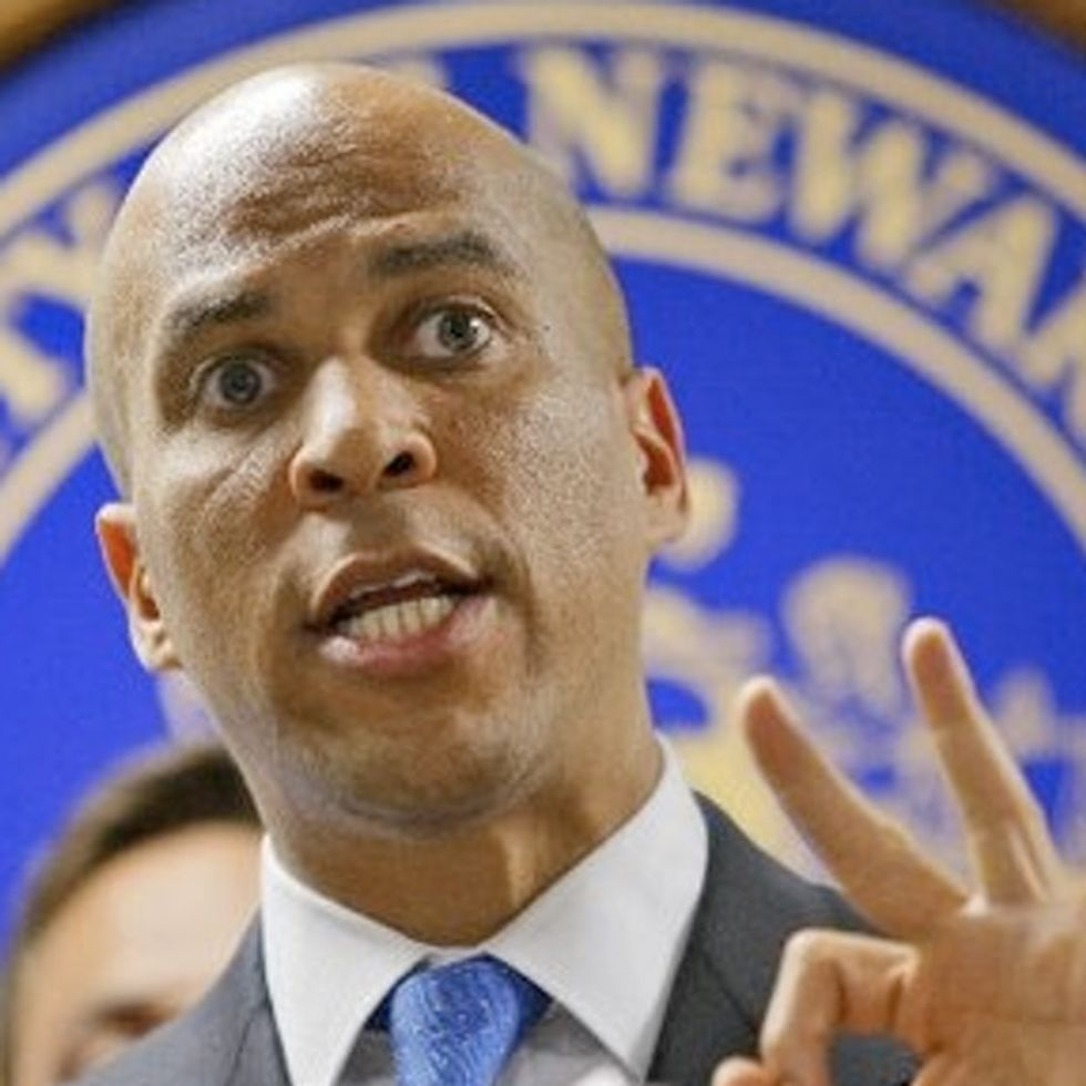VIDEO: The Original Poetry Of Cory Booker (Is This Man For Real??!)