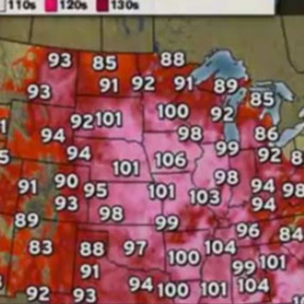 Why The Recent Extreme Heat Wave Is About To Become Permanent
