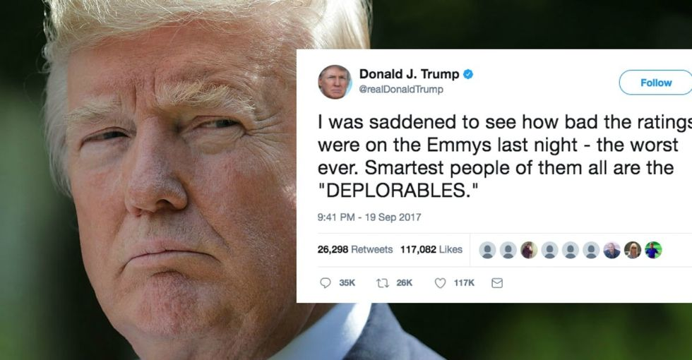 Trump tweeted 80 times since Maria hit Puerto Rico. Guess how many were about the storm?