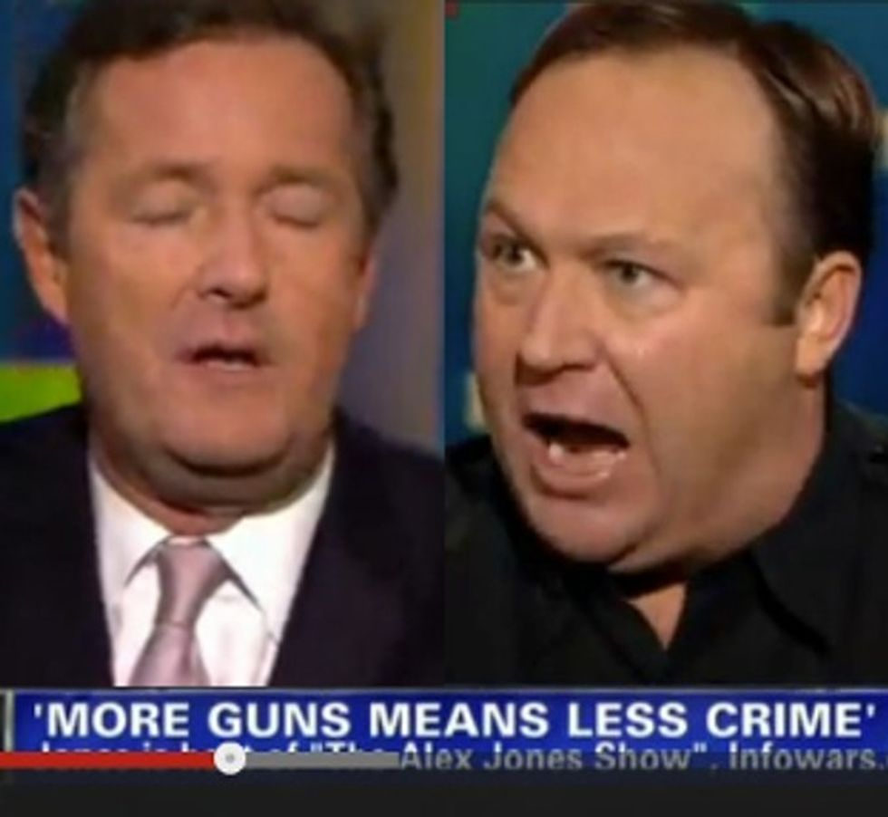 Angry Gun Advocate Loses It Live On CNN In The Most. Bizarre. Interview. EVER.