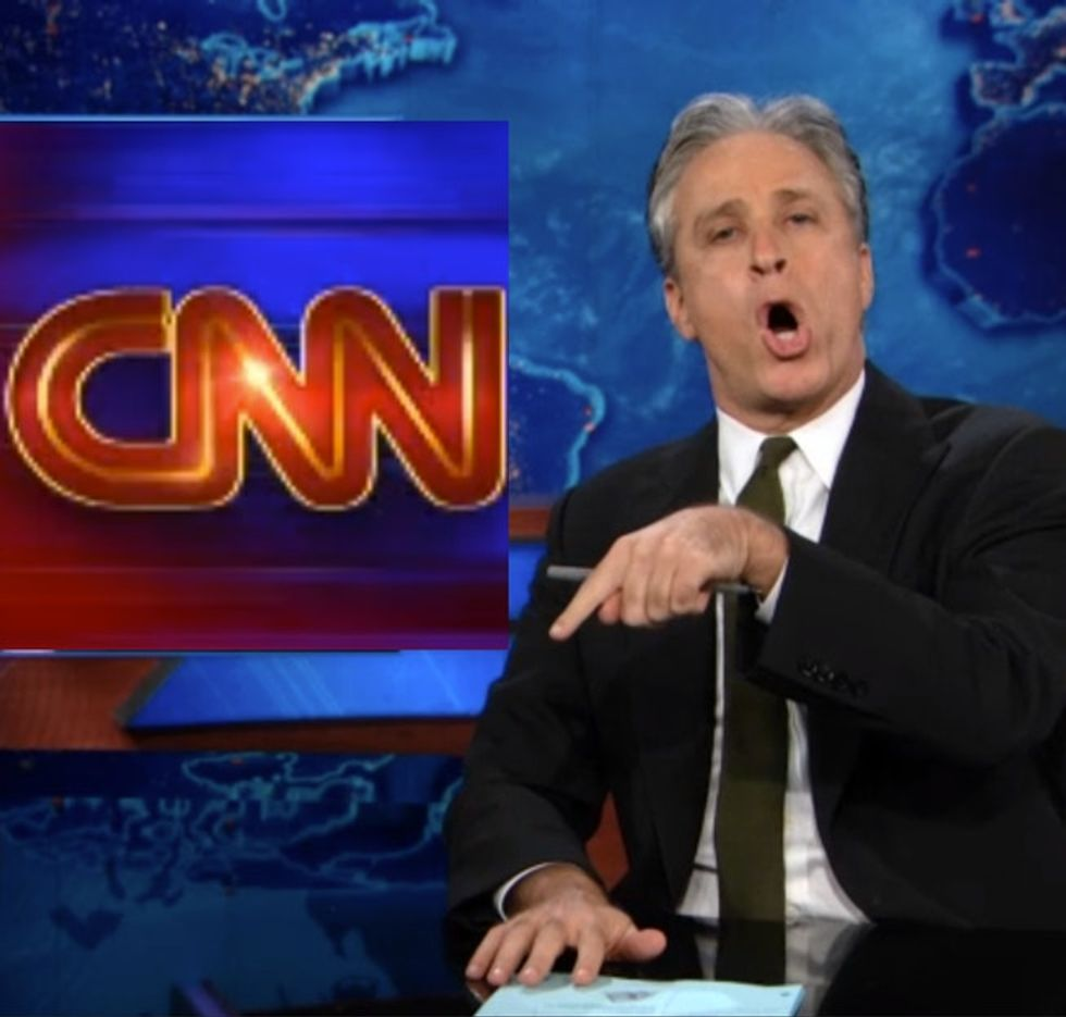 Jon Stewart rips into CNN for lying about the Boston Marathon