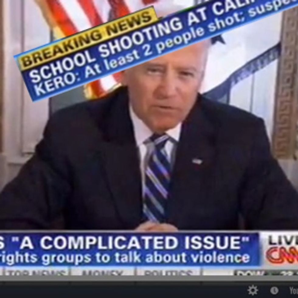 We Interrupt This Report About The NRA And School Shootings To Report A School Shooting. Seriously.
