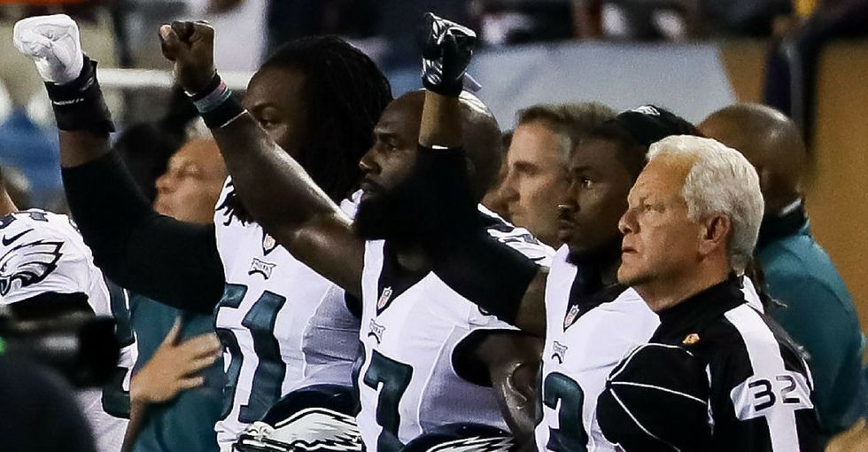 The president's response to the Philadelphia Eagles isn't just petty — it's dangerous.