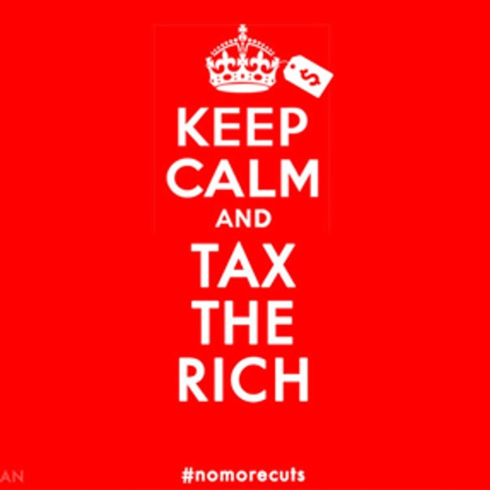 A word from the people who are about to be thrown off the fiscal cliff.
