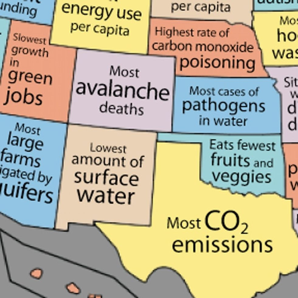 MAPS: What Your State Is Good At, And What It's Lame At