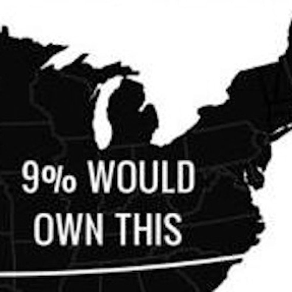 This Is How The U.S. Would Look If It Turned All Its Money Into Land