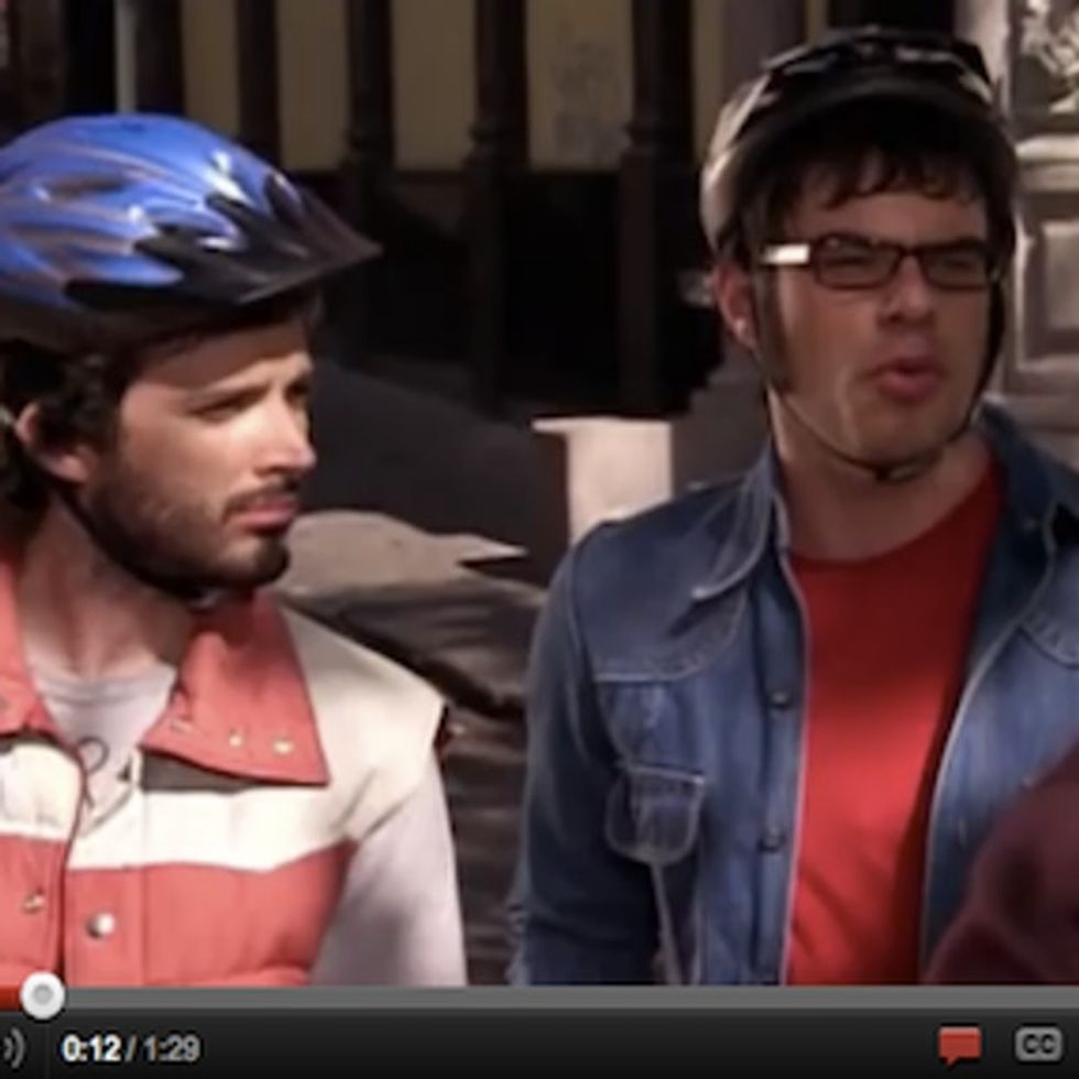 VIDEO: Flight Of The Conchords Take On Racism With Aziz Ansari In 88 Seconds