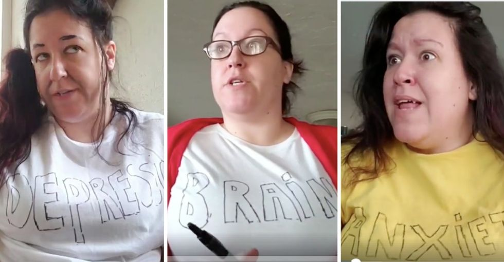 This woman's brilliant 'morning meeting with my brain' has been viewed millions of times in less than 24 hours.