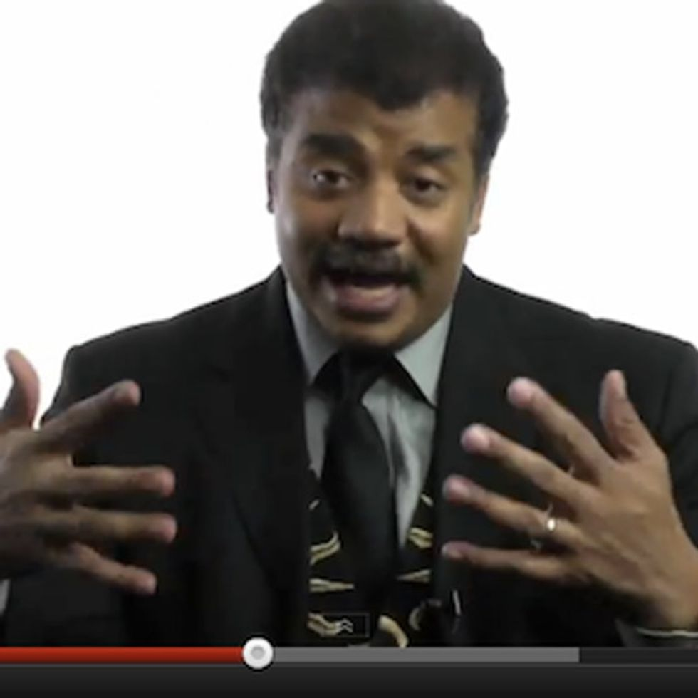 Neil deGrasse Tyson Doesn't Like Being Called An Atheist. Because He's Not One.