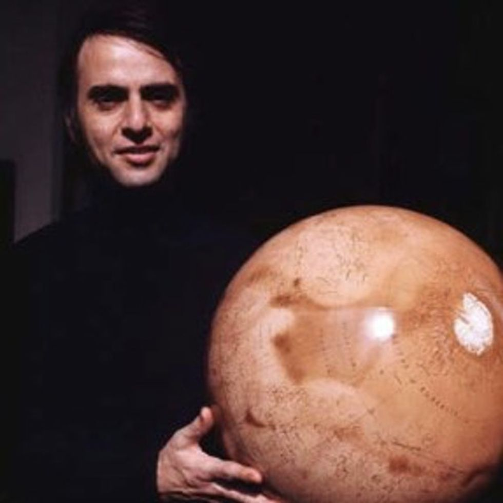 Have You Heard The Message Carl Sagan Sent To Mars For Future Explorers To Find?