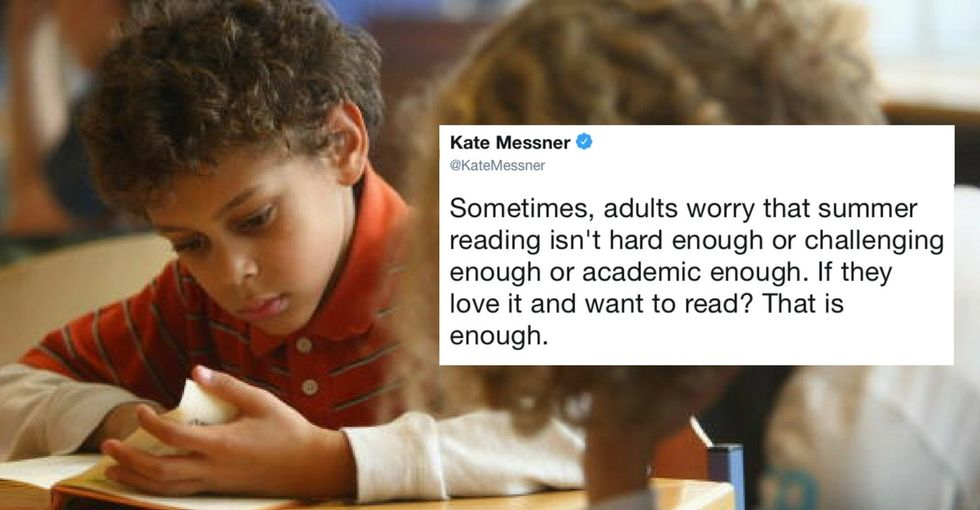Parents asked this former teacher what kids should be reading. Her response was perfect.