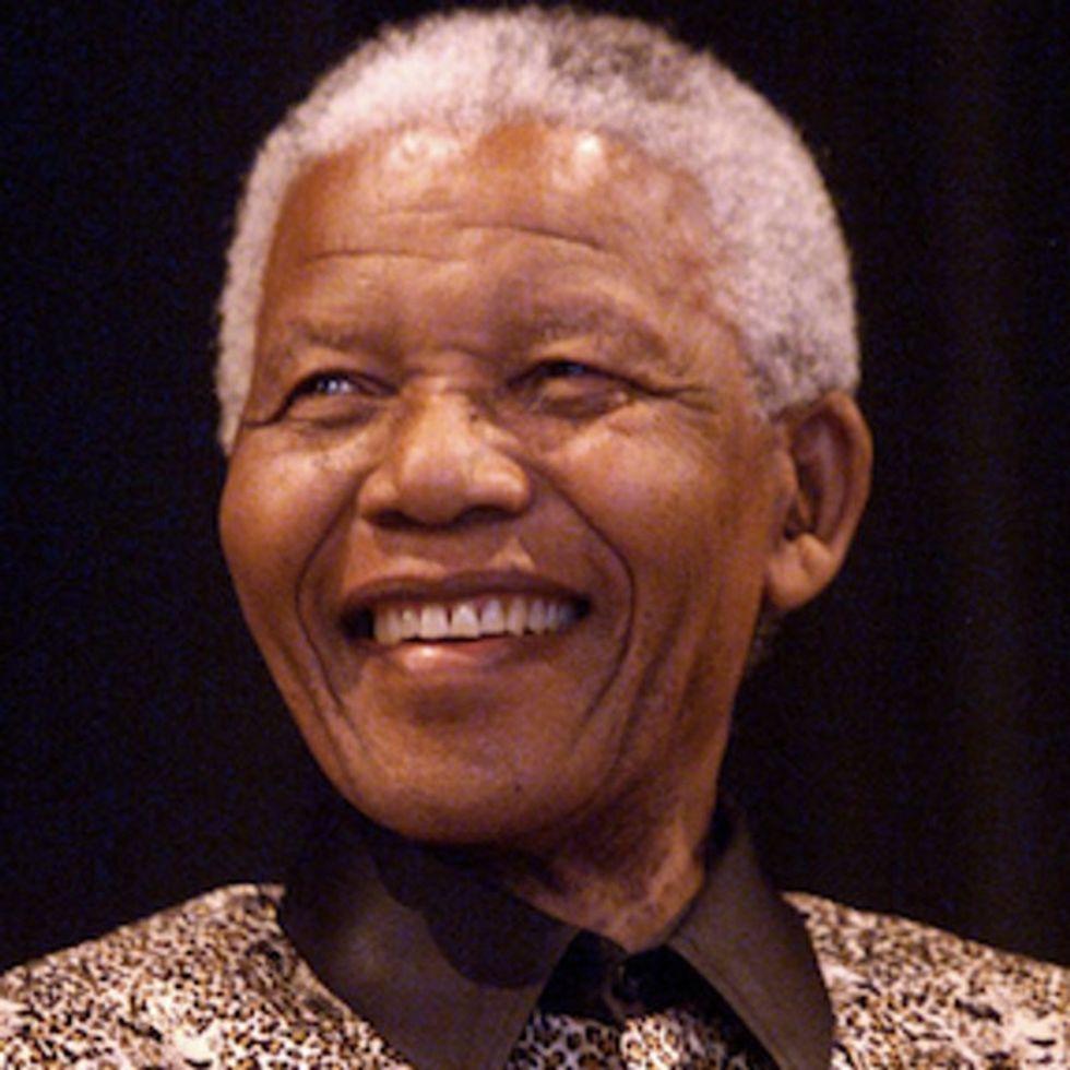 Gorgeous Image Of Nelson Mandela Taking On The Impossible