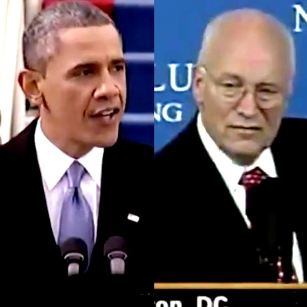 Dick Cheney, Laura Bush, and Colin Powell Just Hopped In Bed With Barack Obama