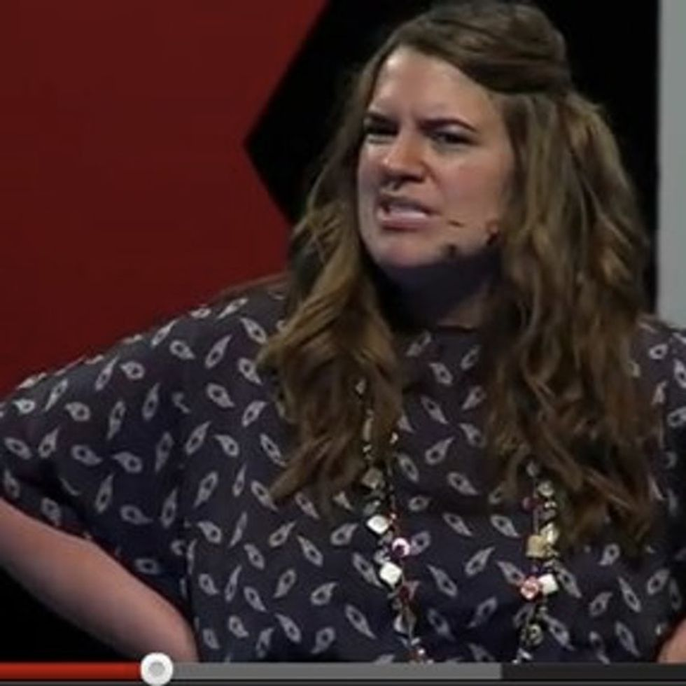A TEDTalk From A Swimsuit Model? It's One Of The Bravest Things I've Ever Seen.