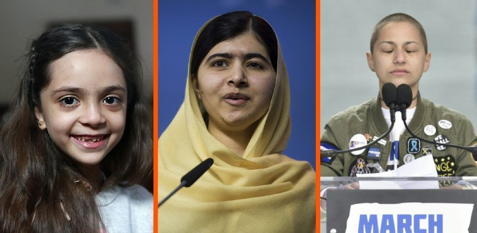 Malala has changed the world for the better. These 5 young women are too.