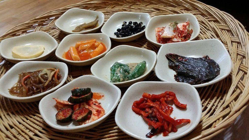 journiest food korean