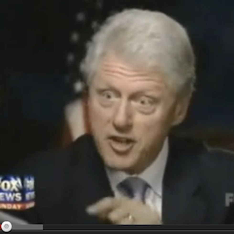 When Bill Clinton Gets Mad At Fox News, Things Get Awesome