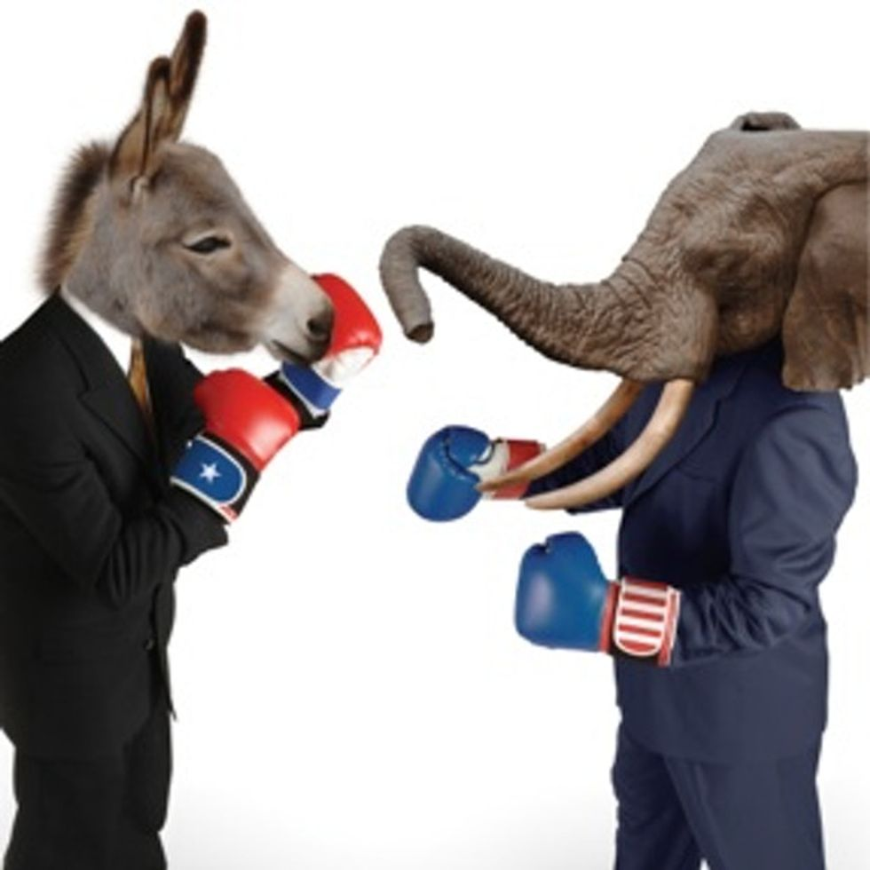 The REAL* History Of How The Democratic And Republican Parties Were Created