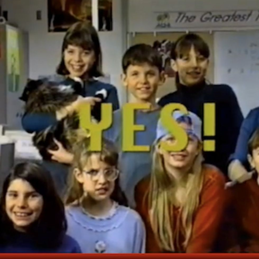 Hilarious PSA from 1995 features fifth graders perfectly predicting the Internet.