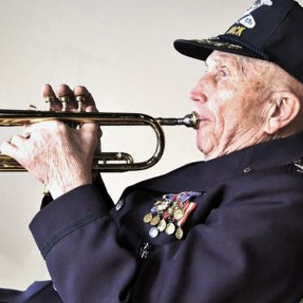 How One WWII Vet Stopped A German Sniper Using Only His Trumpet