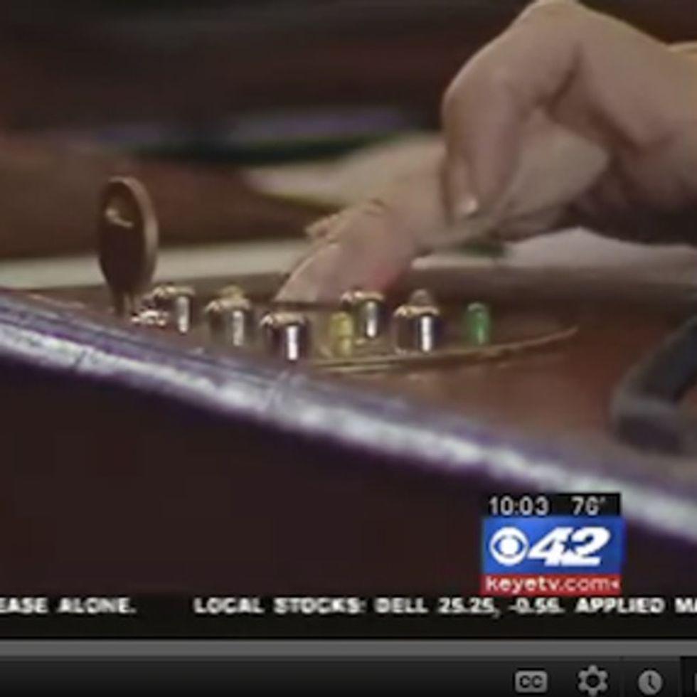 Hypocrisy Caught On Camera: Legislators Commit Vote Fraud While Voting On Vote Fraud Bill!