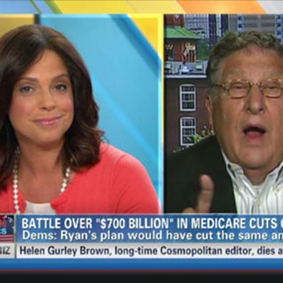 CNN actually fact-checks a politician. Hilarity ensues.