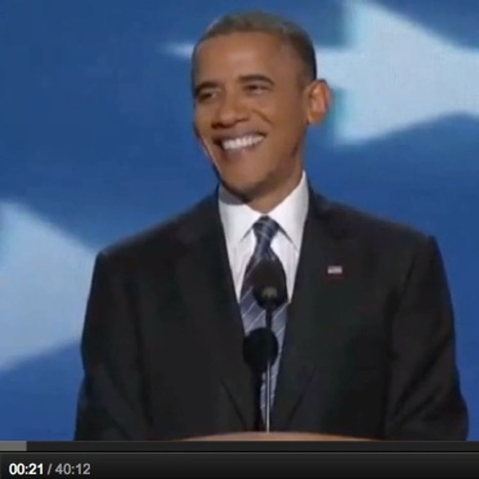 Barack Obama's Speech Is Fired Up And Ready To Go