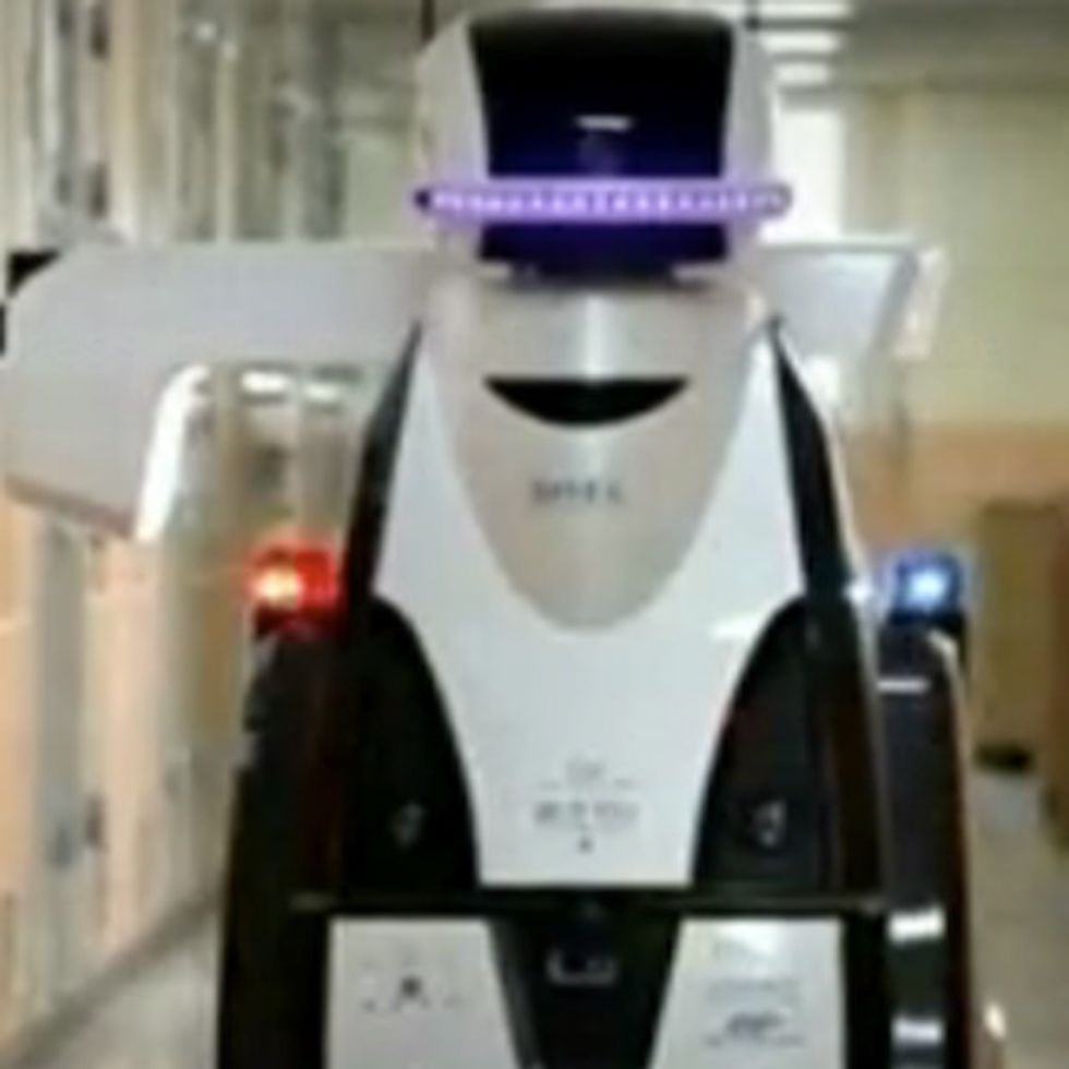 WATCH: New Robot Prison Guards Can Interpret Behavior, Patrol Cells, And Scare The Hell Out Of Human Beings