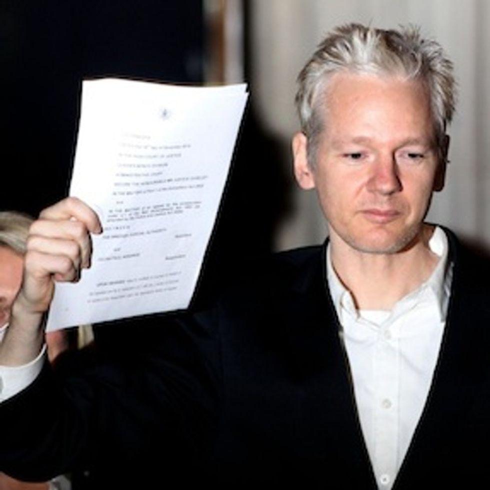 If you're a jerk to WikiLeaks, WikiLeaks is a jerk to you.