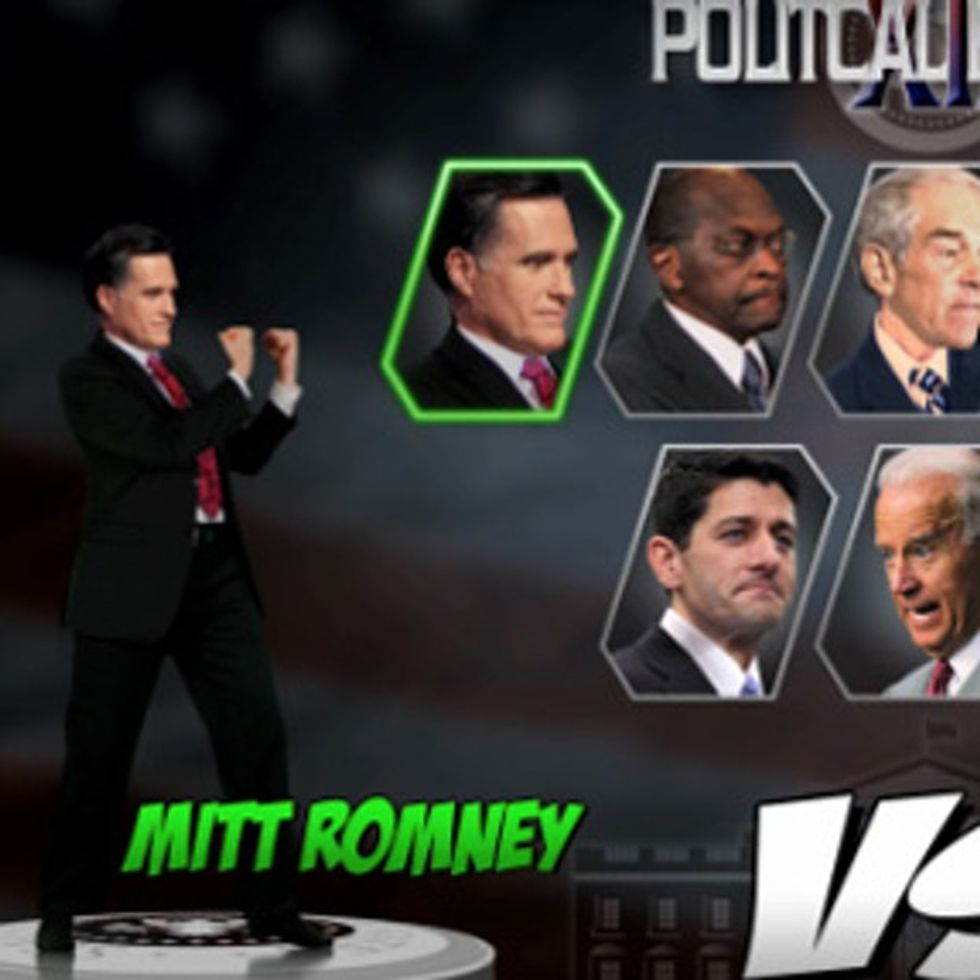 If the presidential election were a series of Mortal Kombat games.
