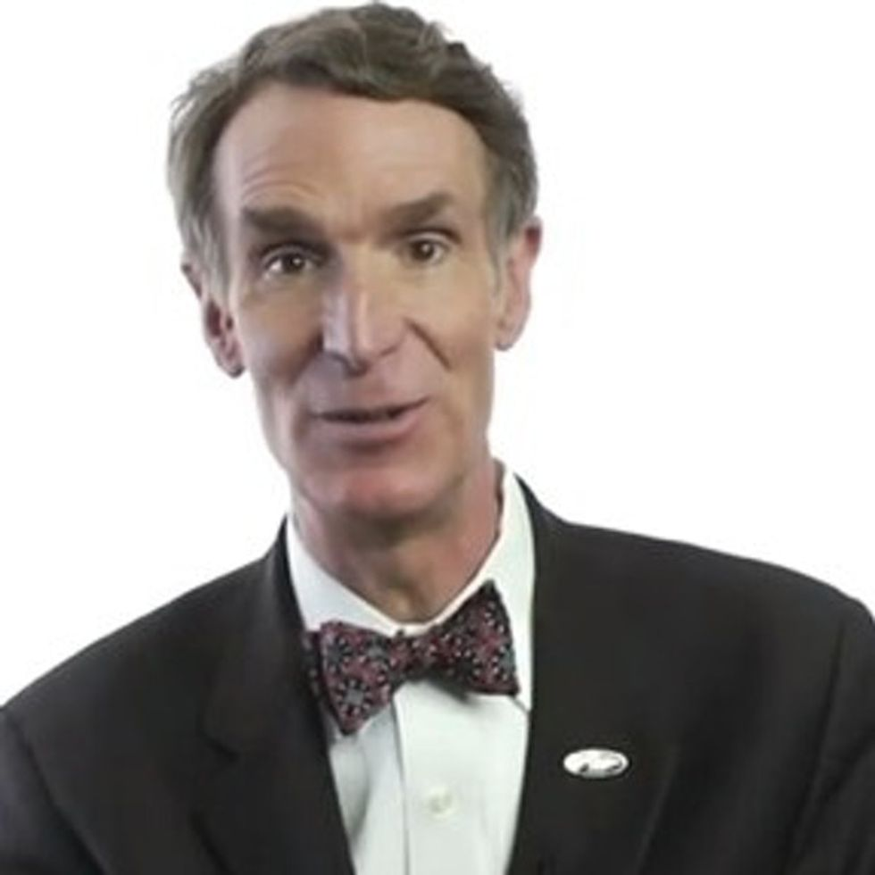 Gauntlet Thrown: Bill Nye Just Challenged Every Creationist To A Science Fight