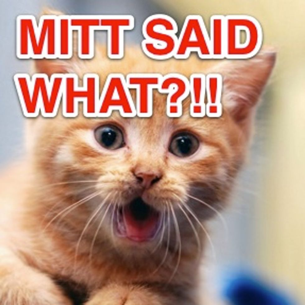 The Cat Is Out Of The Bag On Mitt's NAACP Speech