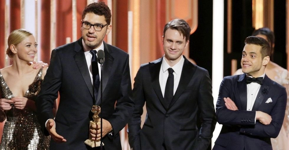 'Mr. Robot' took home a Golden Globe, but the creator's speech was the win of the night.