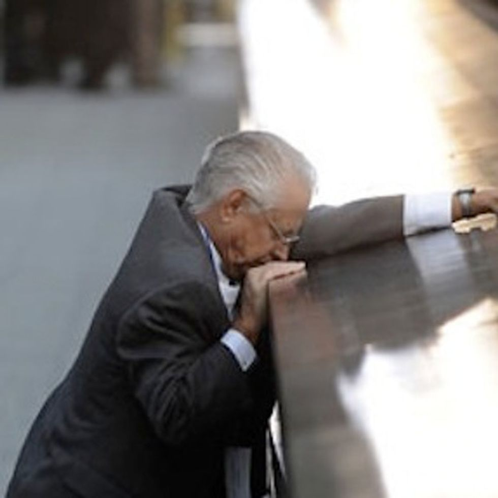 The one 9/11 memorial photo I think everyone should see.