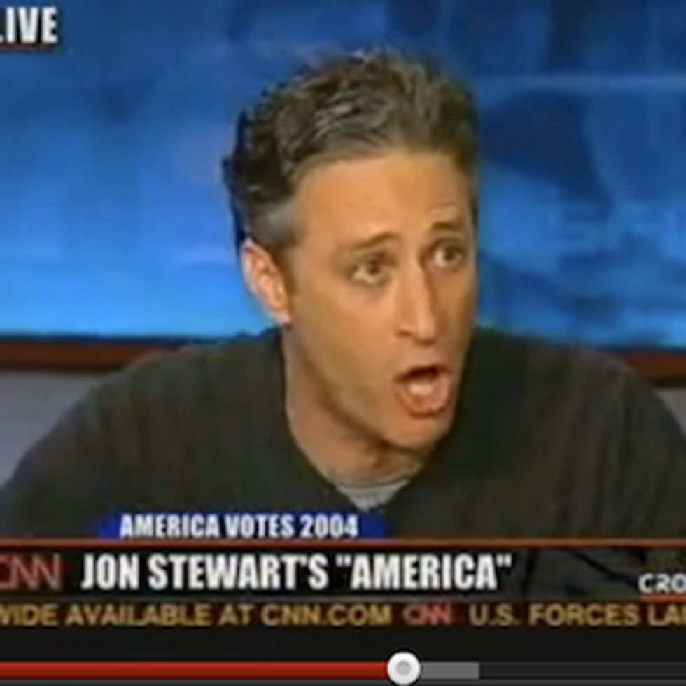 Jon Stewart Was Invited To Speak On A Show He Hated. It Did Not End Well.