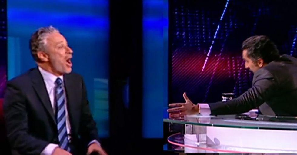 Jon Stewart Of America Meets The Jon Stewart Of Egypt, And Hilarity Ensues