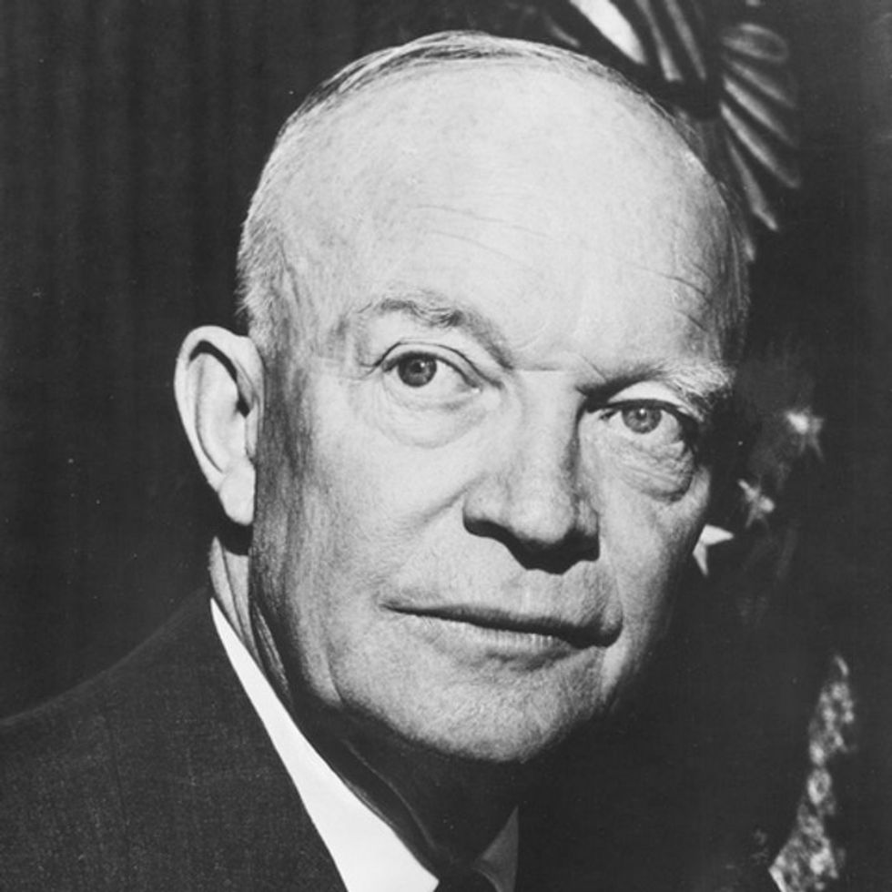 What Did Eisenhower Think Was Theft From The Poor?