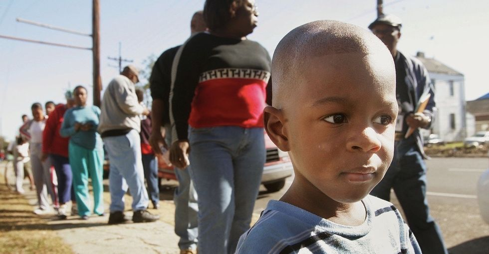 Watch a 9-year-old's conversation with his dad about growing up black in the South.