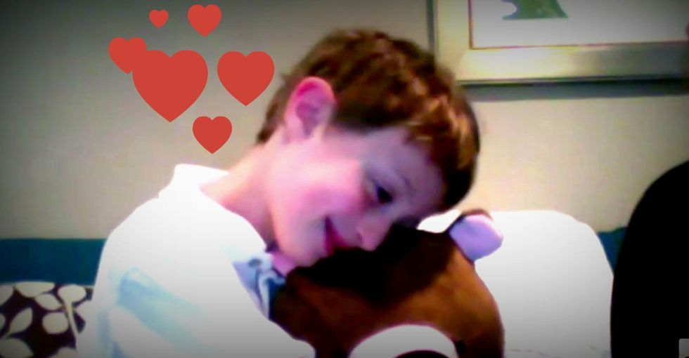 Kids Are Falling In Love With This Special Teddy Bear. There's A Good Reason Why.
