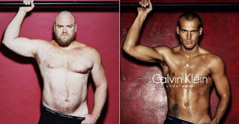 These 4 regular guys put on designer underwear, and I'm officially sold. Fashion industry? Take note.