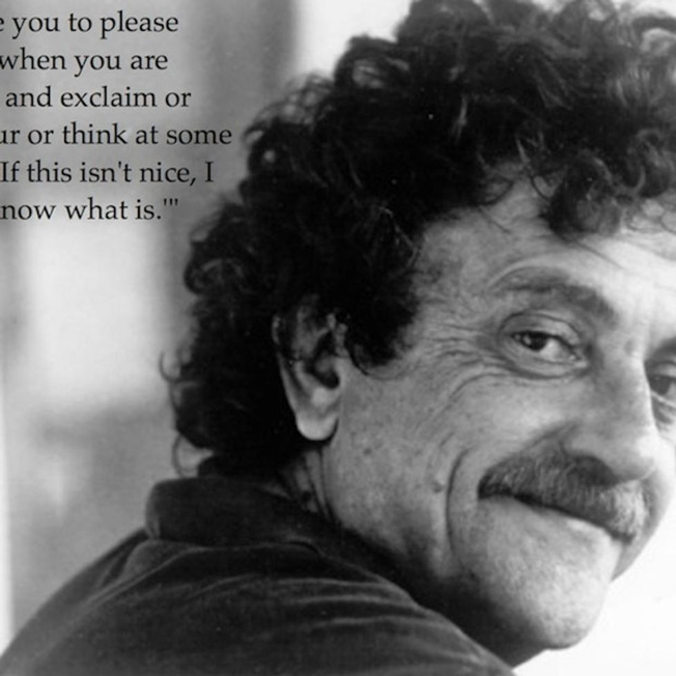Vonnegut Really Had A Way With Words. I'm Glad He Wrote Them Down.