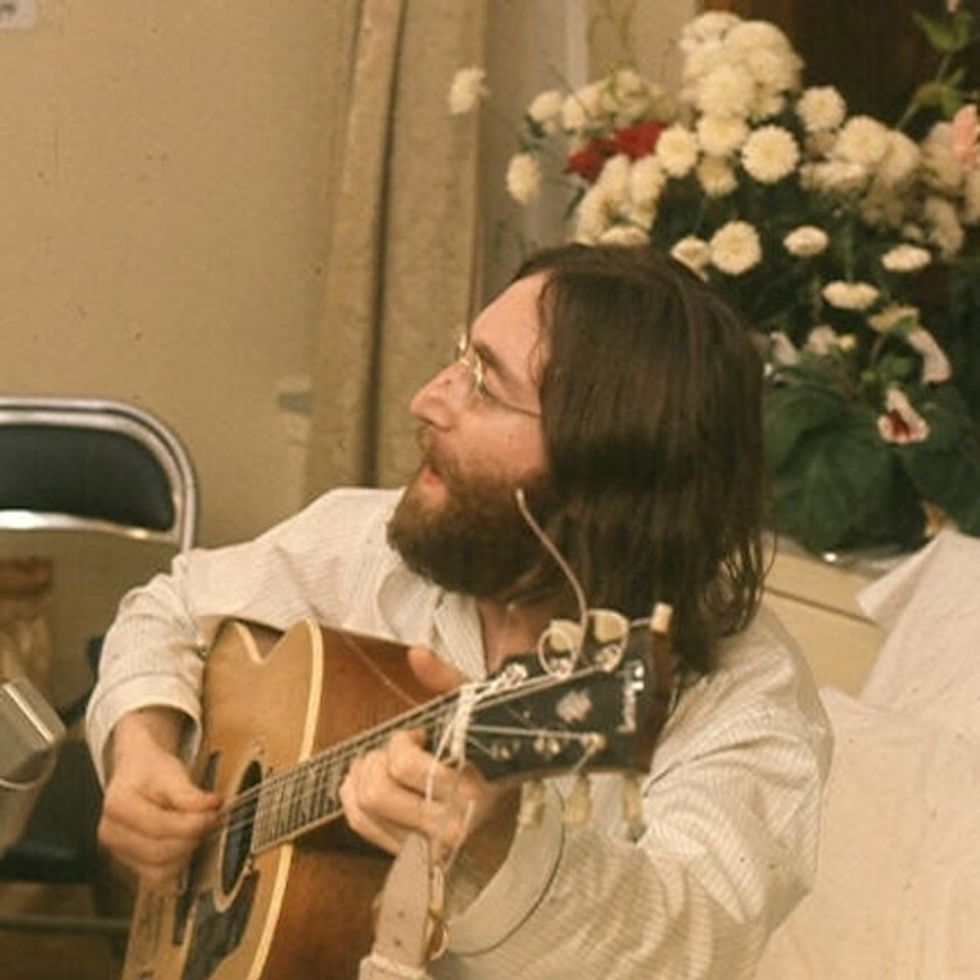John Lennon Gave A Secret Interview 40 Years Ago. This Is The Recording.