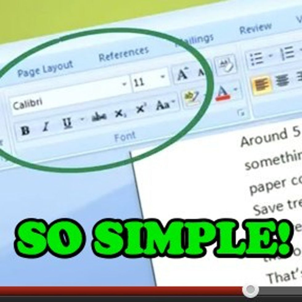Can Changing Your Font Size REALLY Help Improve The World?