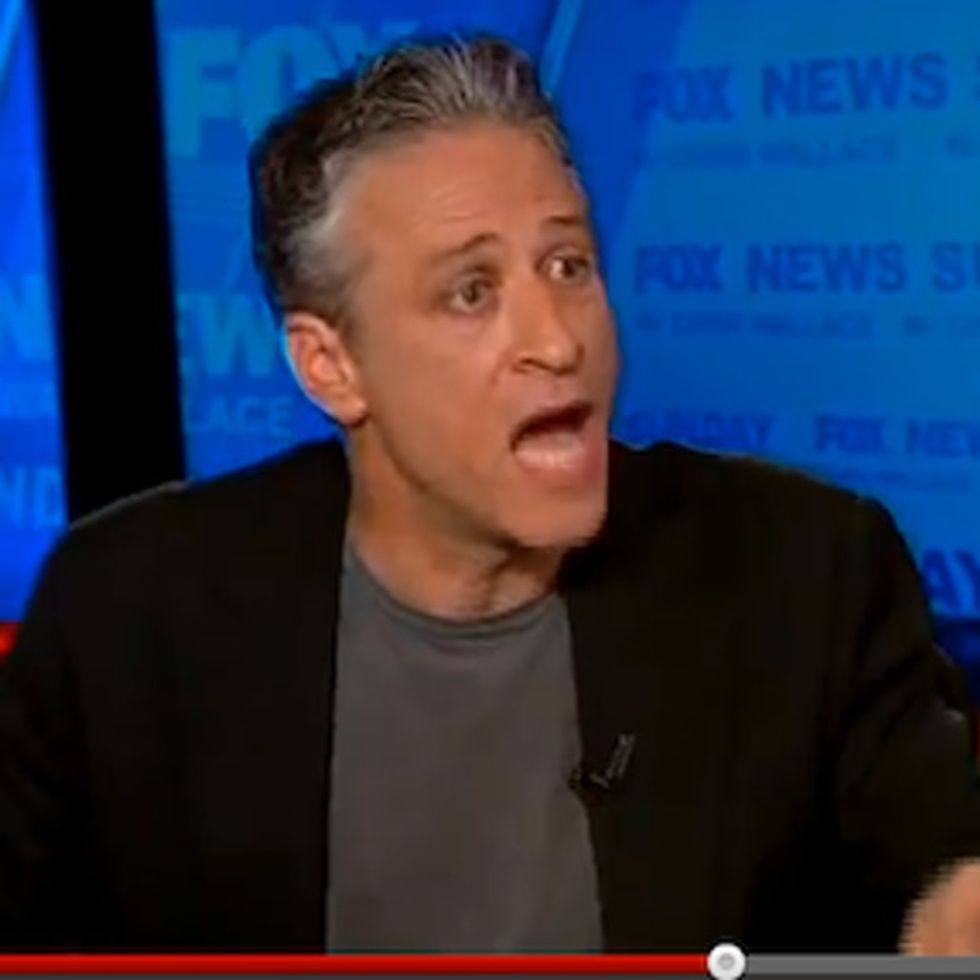 Remember That Time Jon Stewart Tore Fox News Apart ON Fox News? AWESOME.