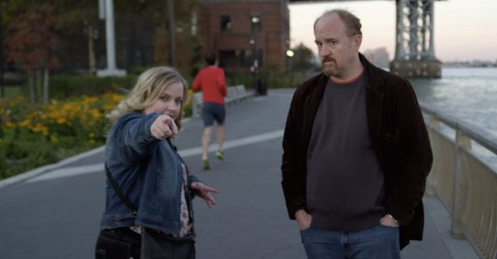 The Brilliance Of This Clip Is Not The Body Type Stuff. It's That Louis C.K. Realizes She's A Human.