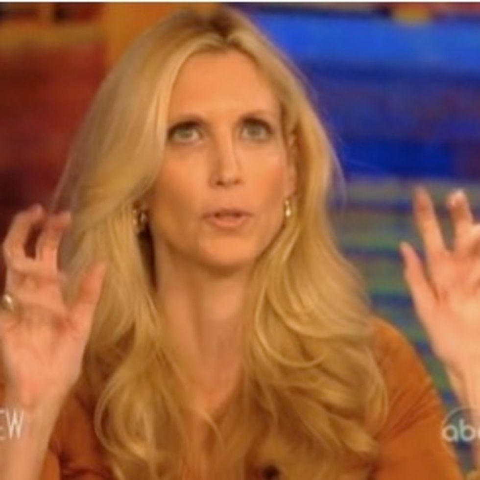 Ann Coulter Tries To Tell Whoopi Goldberg How Black People Feel About Things. It Does Not Go Well.