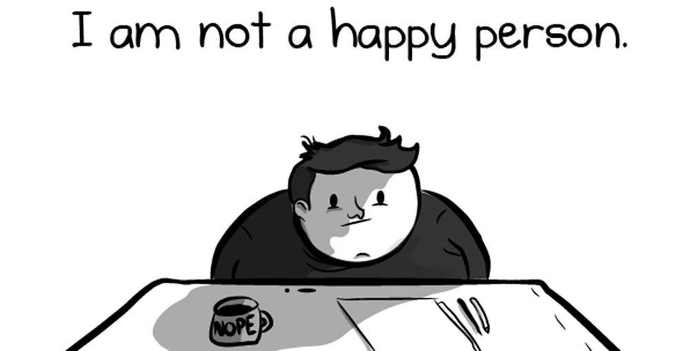 This comic from The Oatmeal illustrates how we're missing the mark on happiness.
