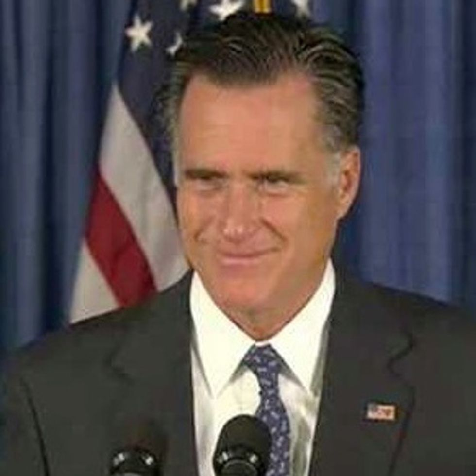 Mitt Romney Finds The Line You Shouldn't Cross And Dives Under It