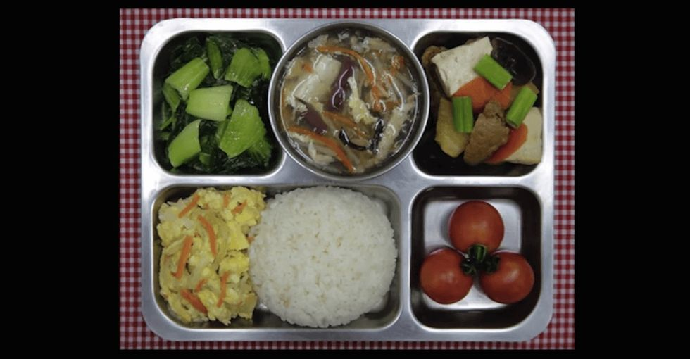 One little girl took pictures of her school lunches. The Internet responded — and so did the school.