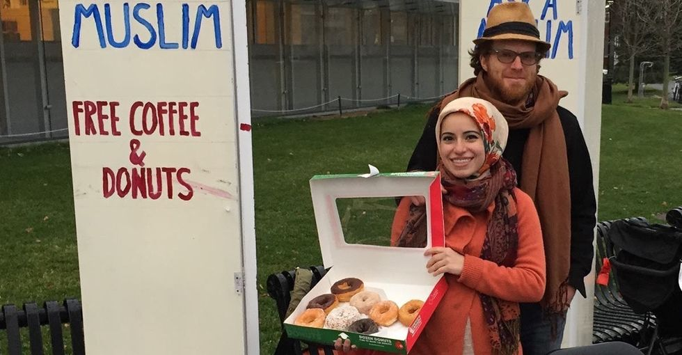 Fear is powerful. So are doughnuts. Here's how one woman is using them.